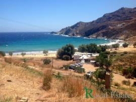 Unique seafront land for sale on the island of Serifos Psili Ammos area