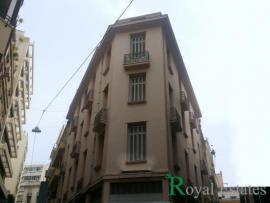 For rent independent neoclassical building in the historic center of Athens Karytsi Square