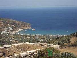 Land for sale in Sifnos with spectacular sea view